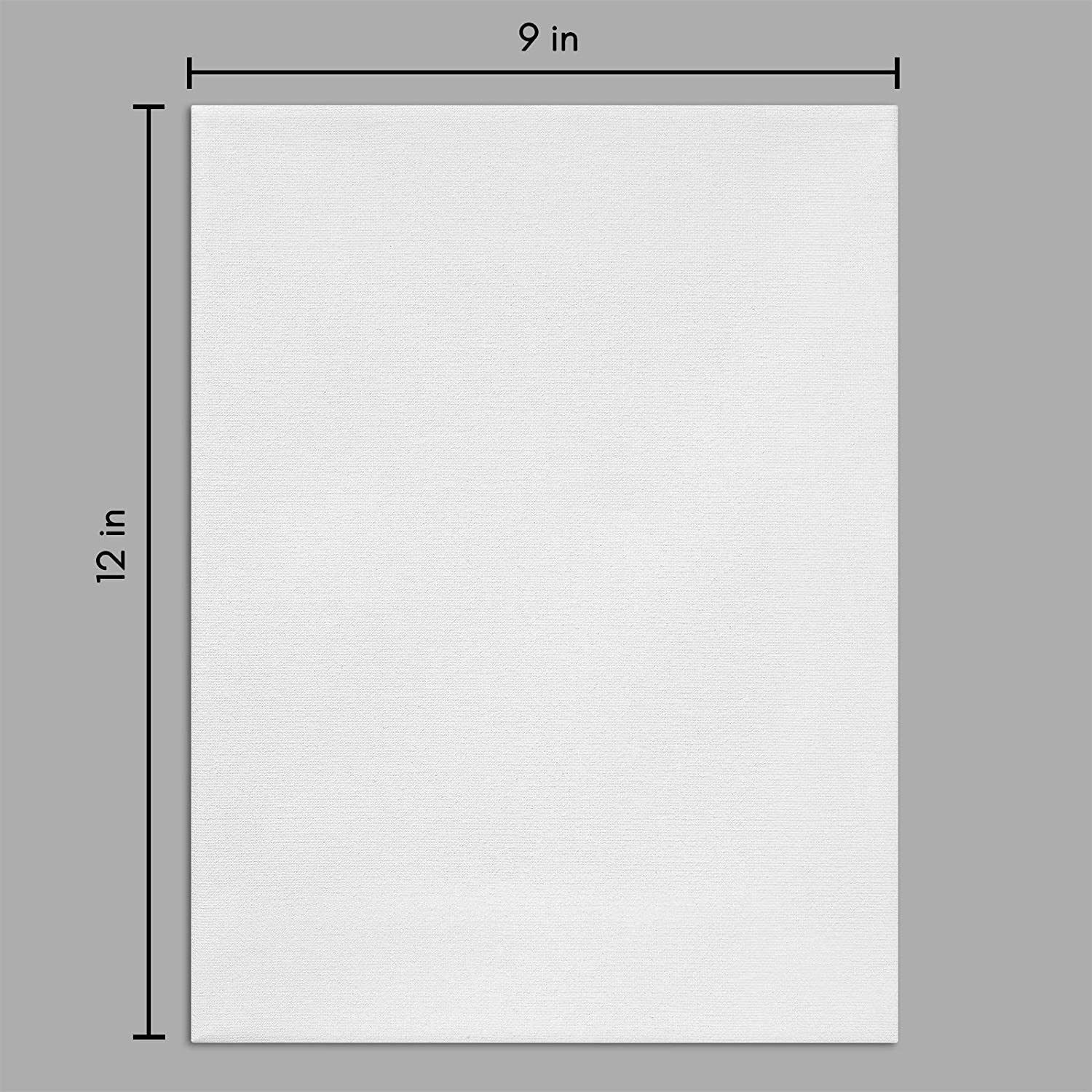 miniature 15 - Americanflat Stretched Canvas in White 100% Cotton Wooden Frames & Acid Free