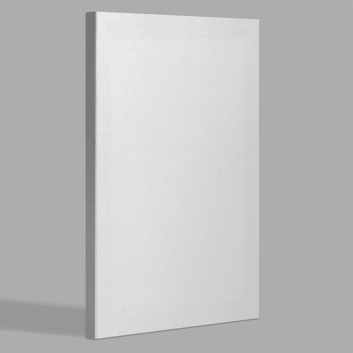 miniature 20 - Americanflat Stretched Canvas in White 100% Cotton Wooden Frames & Acid Free