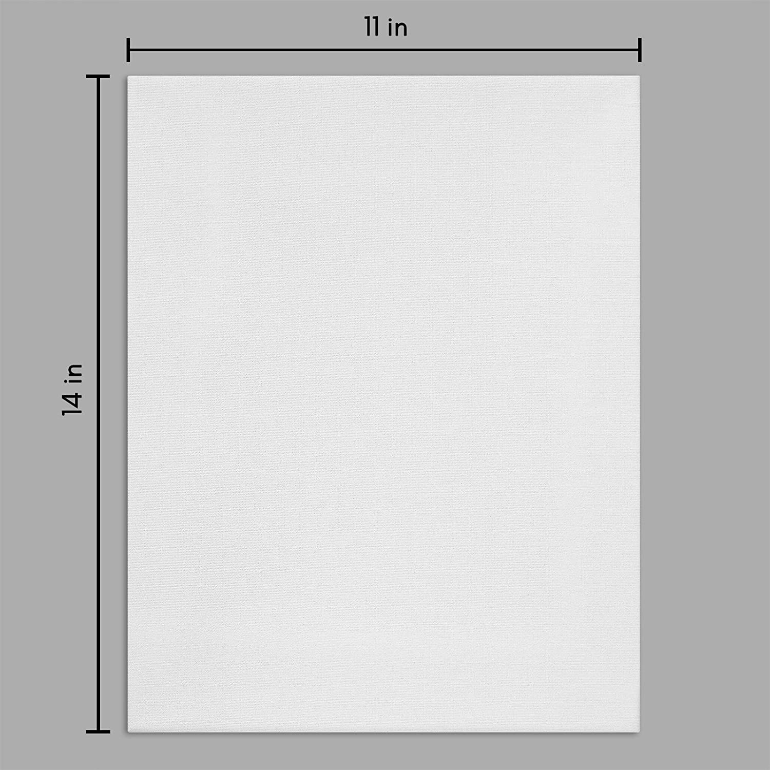miniature 21 - Americanflat Stretched Canvas in White 100% Cotton Wooden Frames & Acid Free