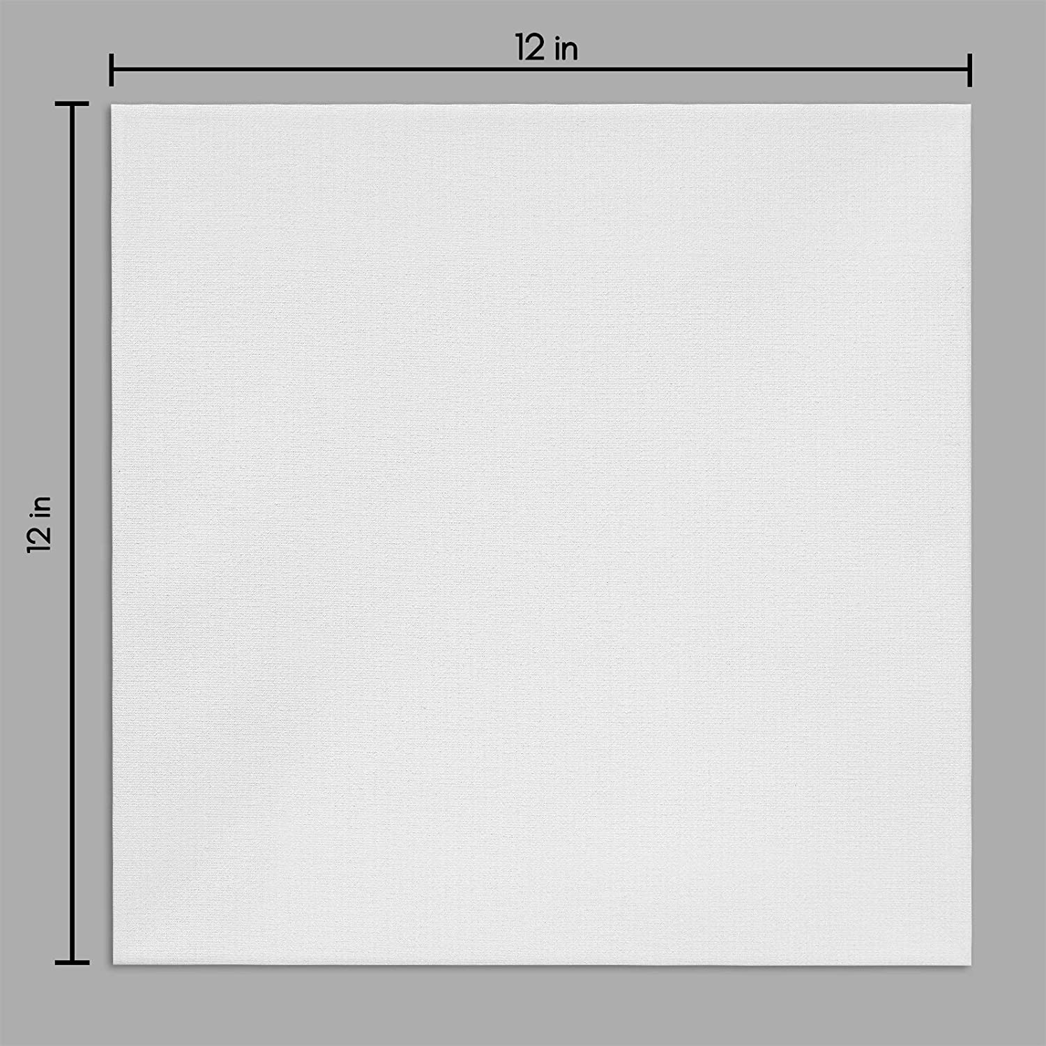 miniature 27 - Americanflat Stretched Canvas in White 100% Cotton Wooden Frames & Acid Free
