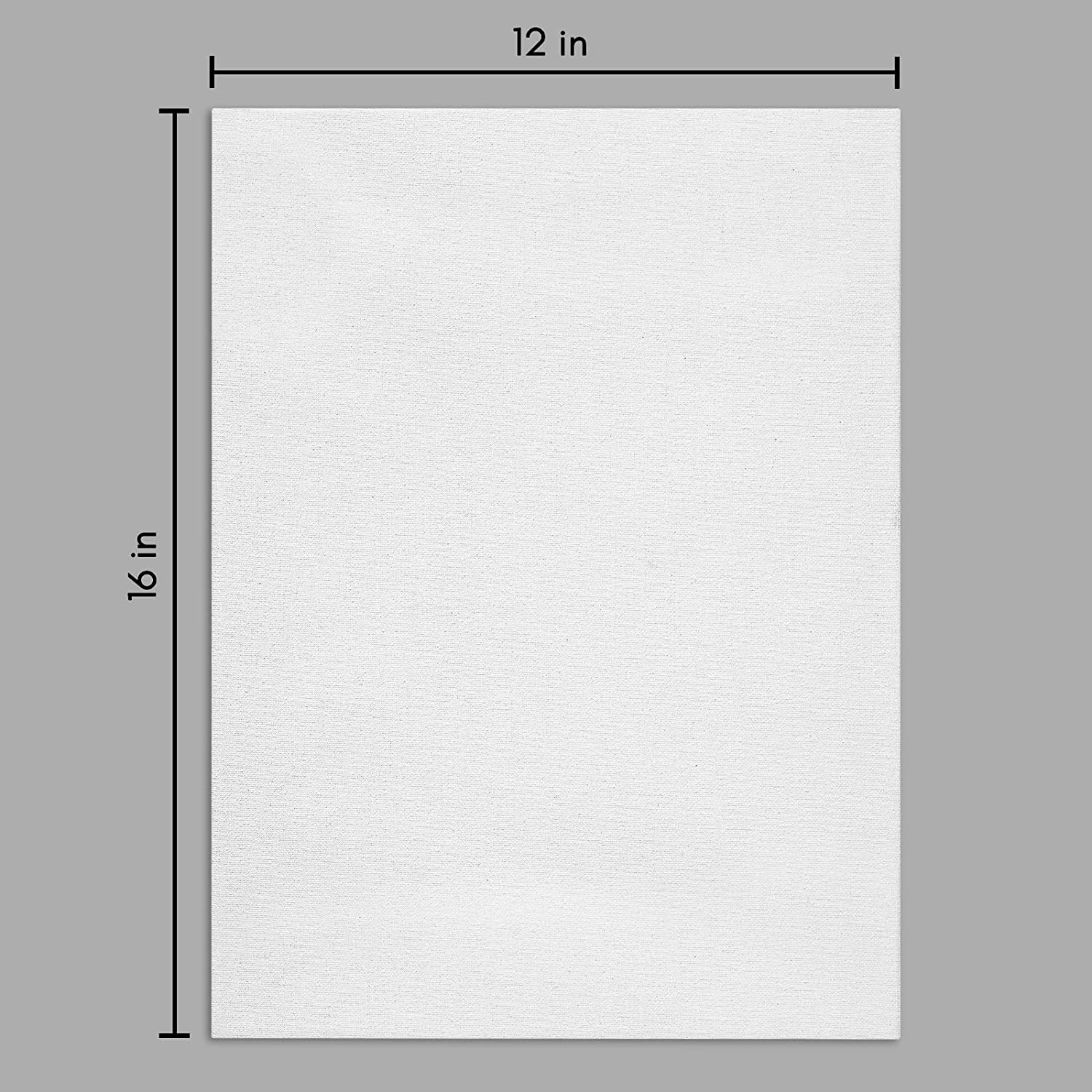 miniature 33 - Americanflat Stretched Canvas in White 100% Cotton Wooden Frames & Acid Free