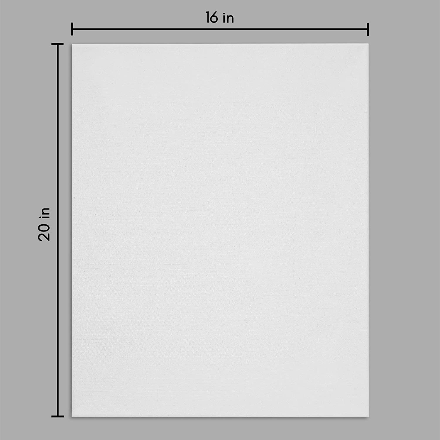 miniature 39 - Americanflat Stretched Canvas in White 100% Cotton Wooden Frames & Acid Free