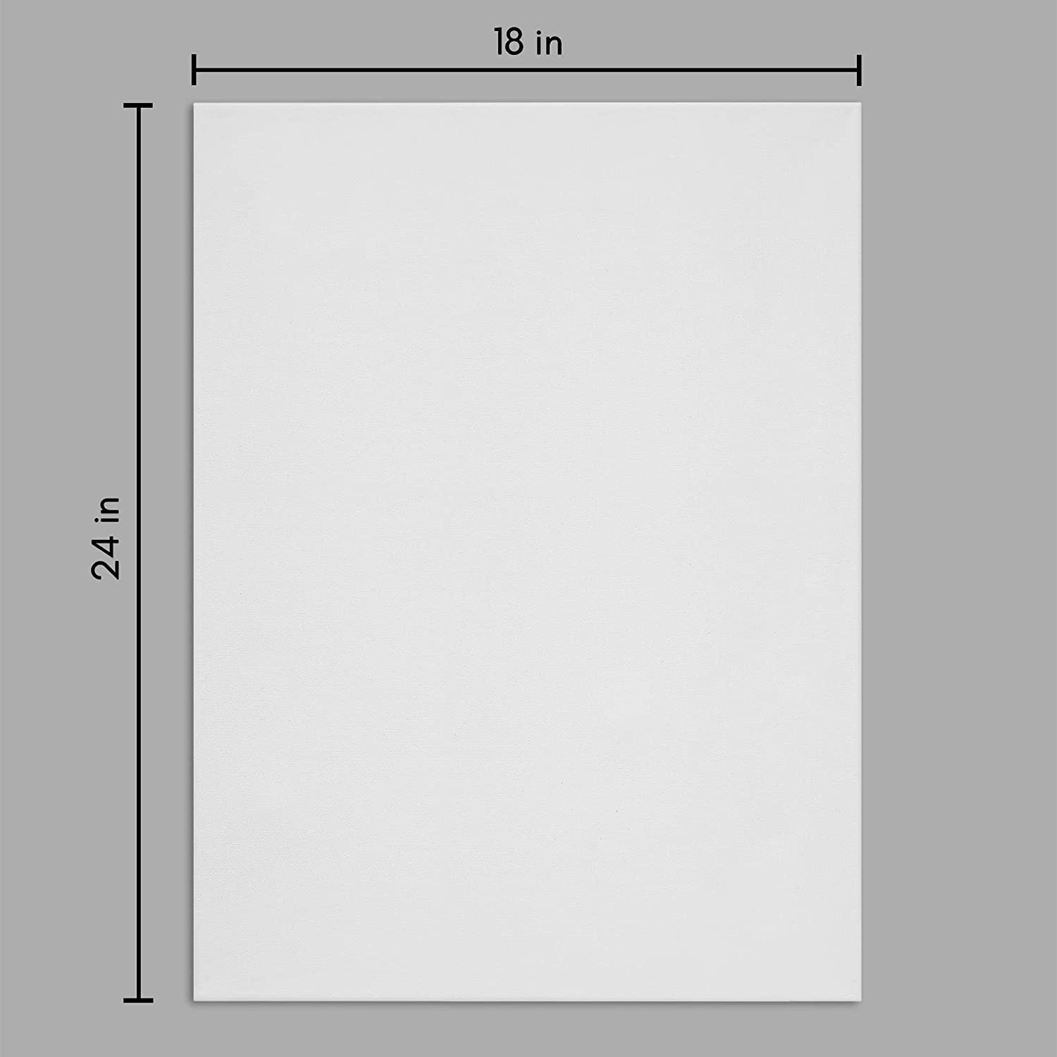 miniature 45 - Americanflat Stretched Canvas in White 100% Cotton Wooden Frames & Acid Free