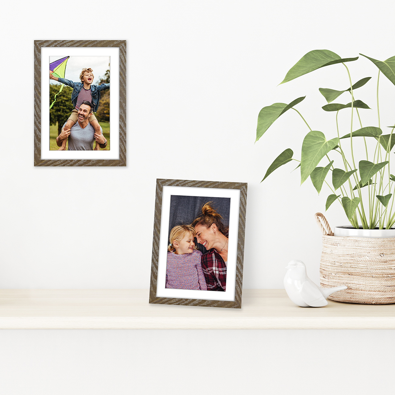 miniature 18 - Americanflat Thin Picture Frame 5x7 8x10 11x14 8.5x11 Wall Tabletop Pick Color