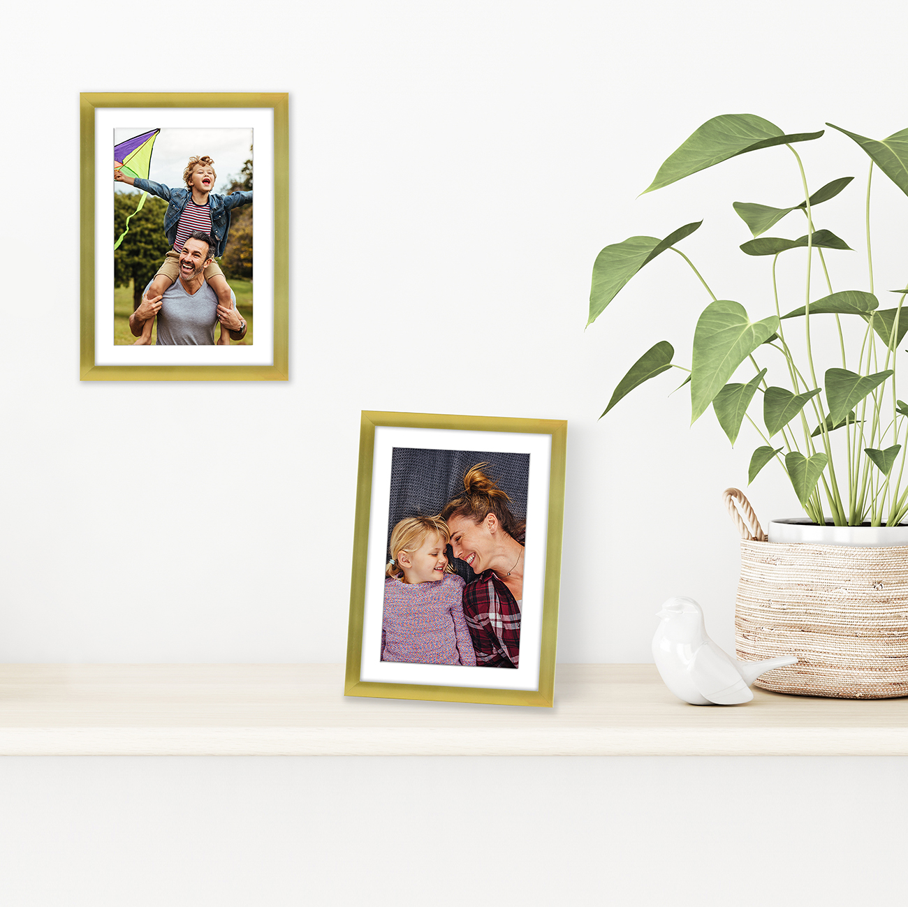 miniature 30 - Americanflat Thin Picture Frame 5x7 8x10 11x14 8.5x11 Wall Tabletop Pick Color