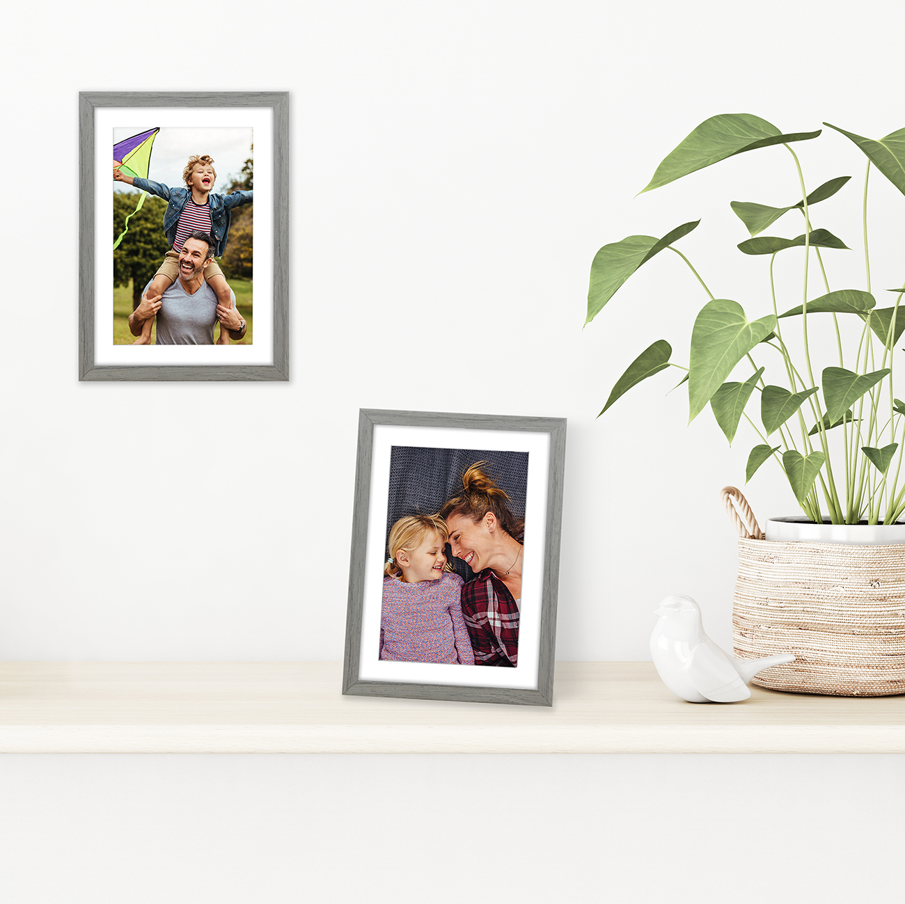 miniature 42 - Americanflat Thin Picture Frame 5x7 8x10 11x14 8.5x11 Wall Tabletop Pick Color