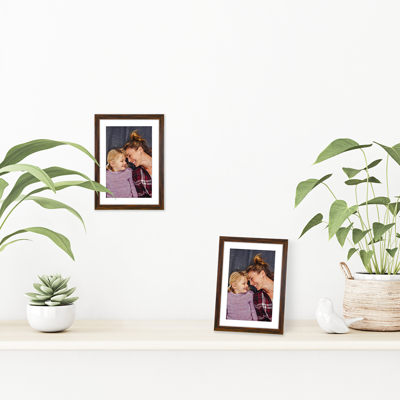 miniature 54 - Americanflat Thin Picture Frame 5x7 8x10 11x14 8.5x11 Wall Tabletop Pick Color