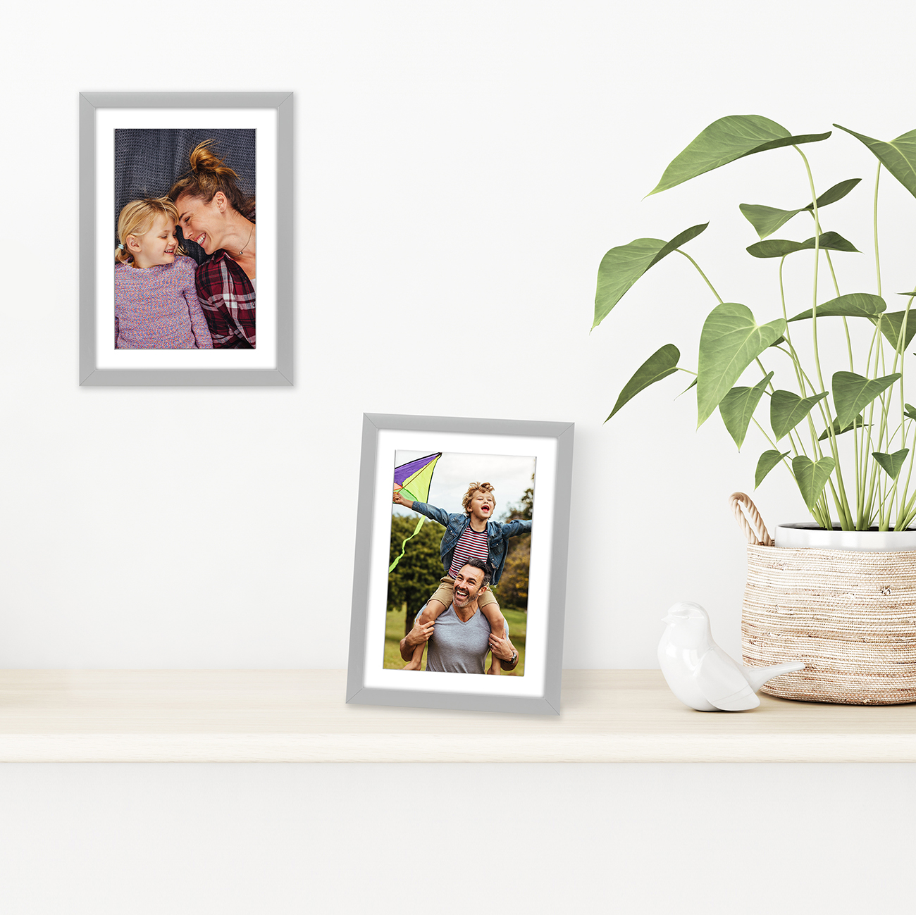 miniature 66 - Americanflat Thin Picture Frame 5x7 8x10 11x14 8.5x11 Wall Tabletop Pick Color