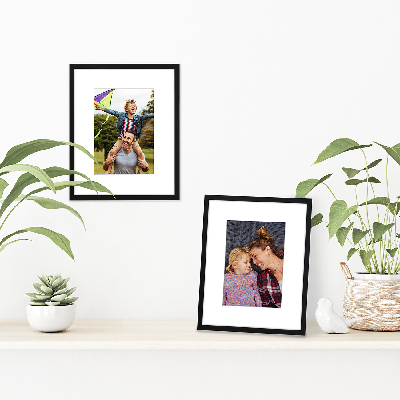 miniature 12 - Americanflat Thin Picture Frame 5x7 8x10 11x14 8.5x11 Wall Tabletop Pick Color