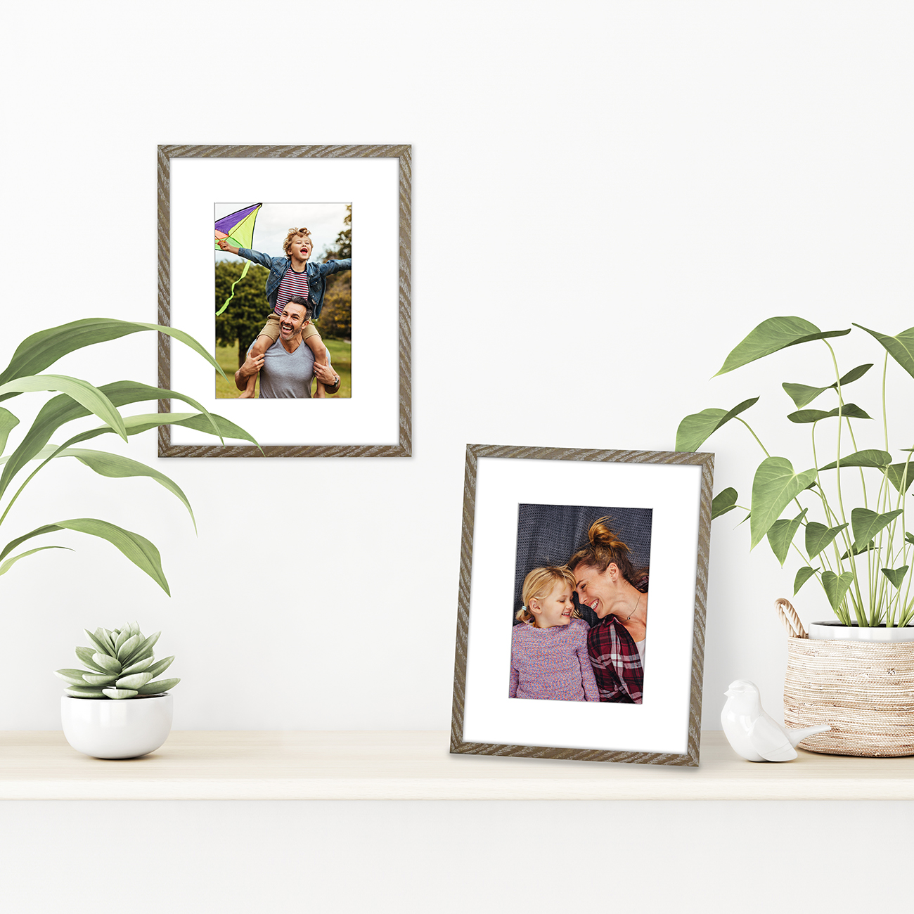 miniature 24 - Americanflat Thin Picture Frame 5x7 8x10 11x14 8.5x11 Wall Tabletop Pick Color