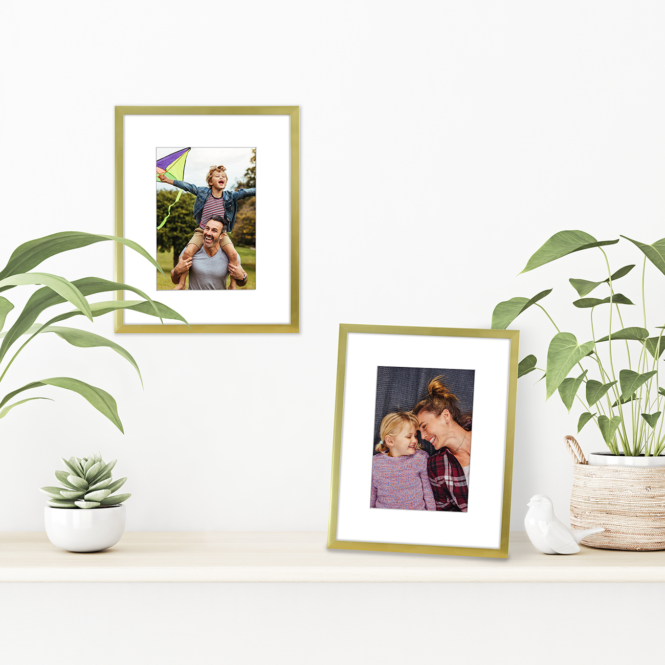 miniature 36 - Americanflat Thin Picture Frame 5x7 8x10 11x14 8.5x11 Wall Tabletop Pick Color
