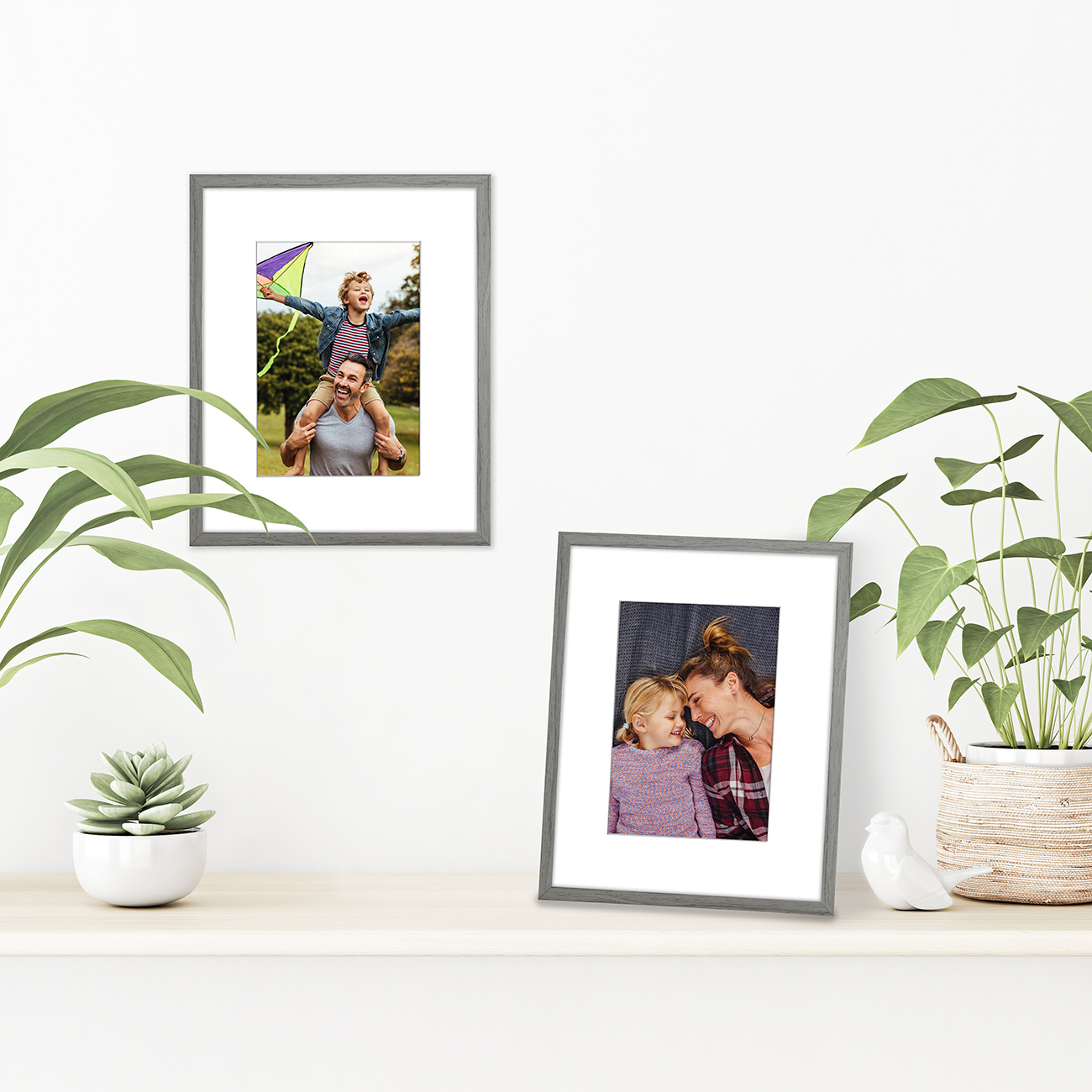 miniature 48 - Americanflat Thin Picture Frame 5x7 8x10 11x14 8.5x11 Wall Tabletop Pick Color