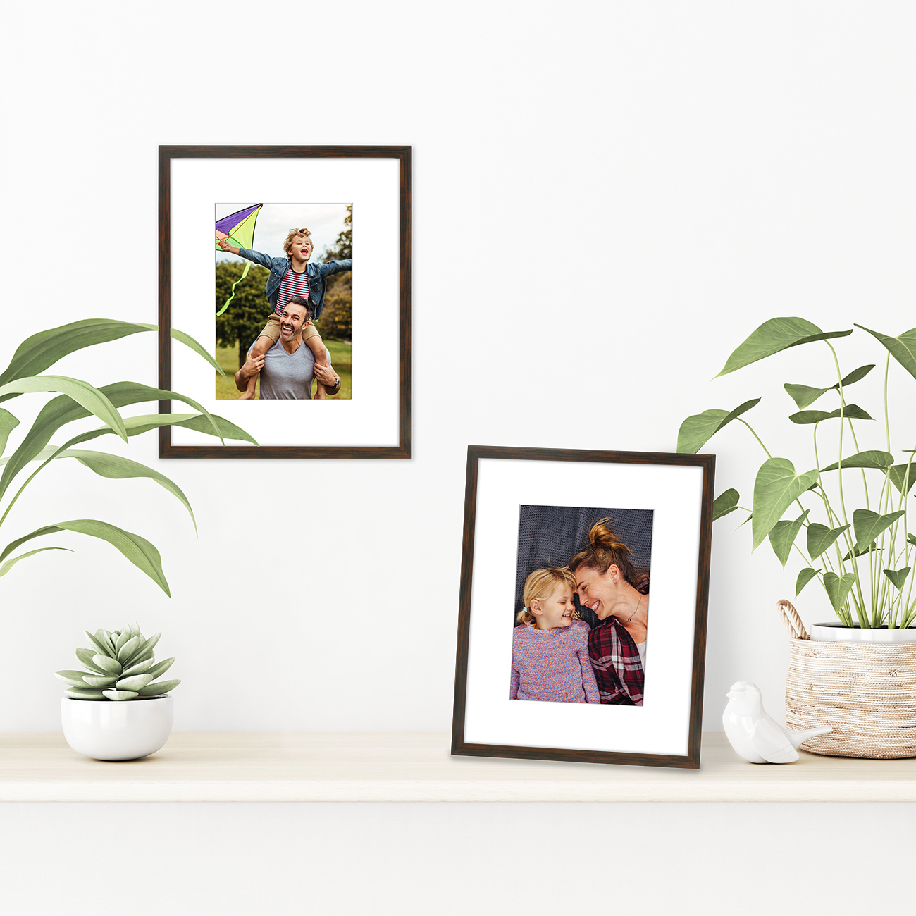 miniature 61 - Americanflat Thin Picture Frame 5x7 8x10 11x14 8.5x11 Wall Tabletop Pick Color