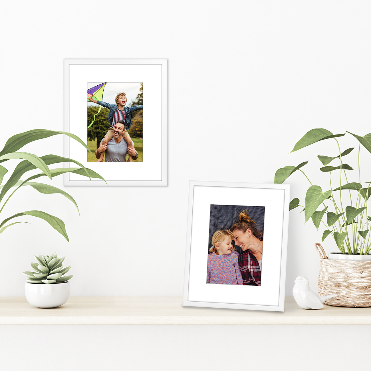 miniature 96 - Americanflat Thin Picture Frame 5x7 8x10 11x14 8.5x11 Wall Tabletop Pick Color