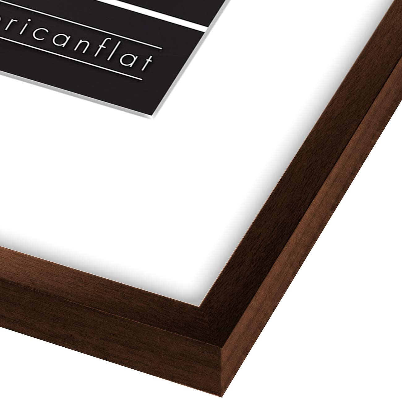 miniature 82 - Americanflat Thin Picture Frame 5x7 8x10 11x14 8.5x11 Wall Tabletop Pick Color