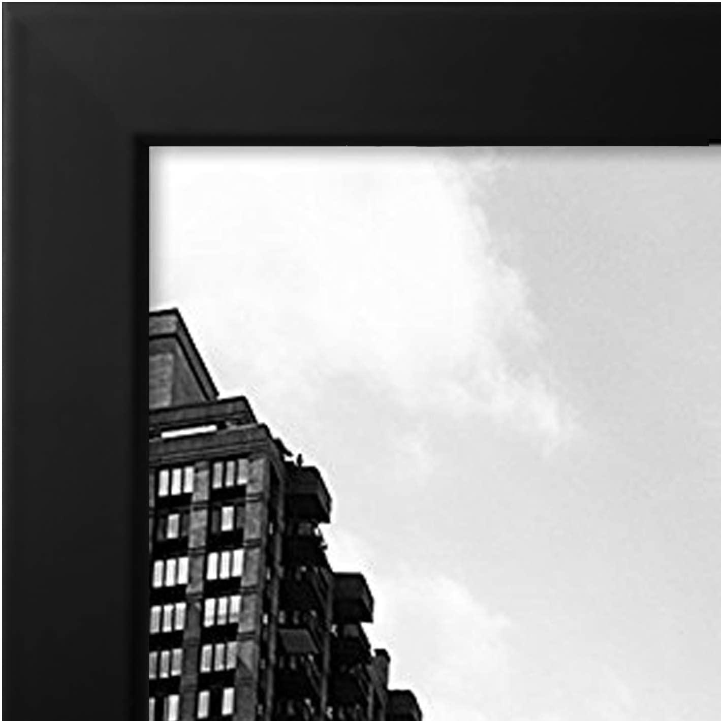 miniature 27 - Americanflat-Cadre-photo-en-bois-noir-Mural-11-034-X-17-034