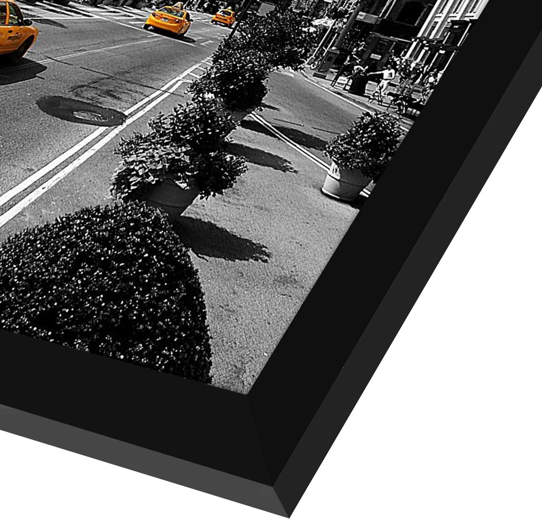 miniature 26 - Americanflat-Cadre-photo-en-bois-noir-Mural-11-034-X-17-034
