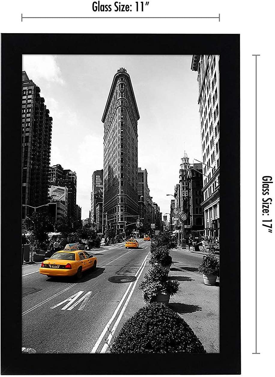 miniature 15 - Americanflat-Cadre-photo-en-bois-noir-Mural-11-034-X-17-034