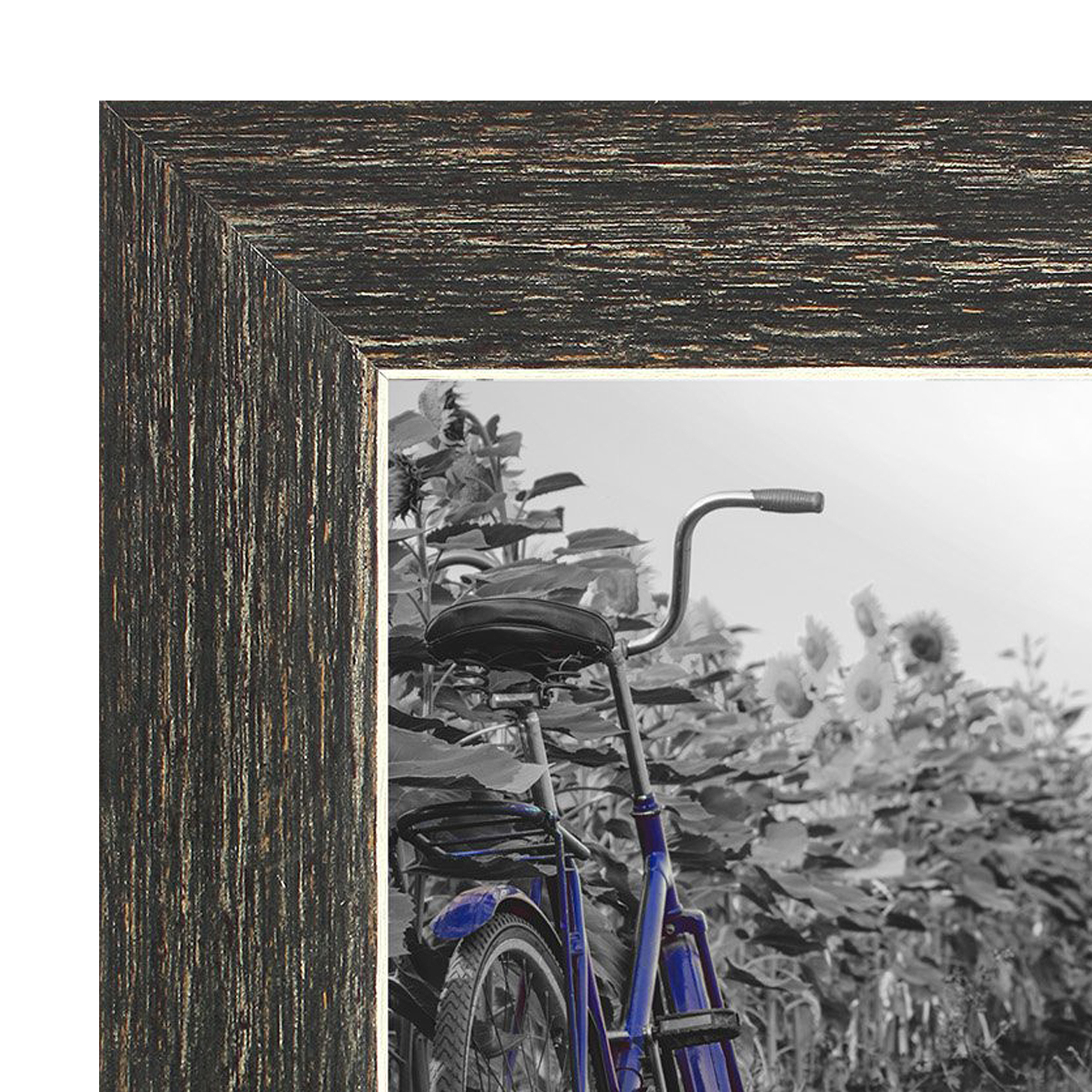 miniature 20 - Americanflat Picture Frame 4x6 5x7 8x10 (2) Pack Rustic Wood Wall or Tabletop