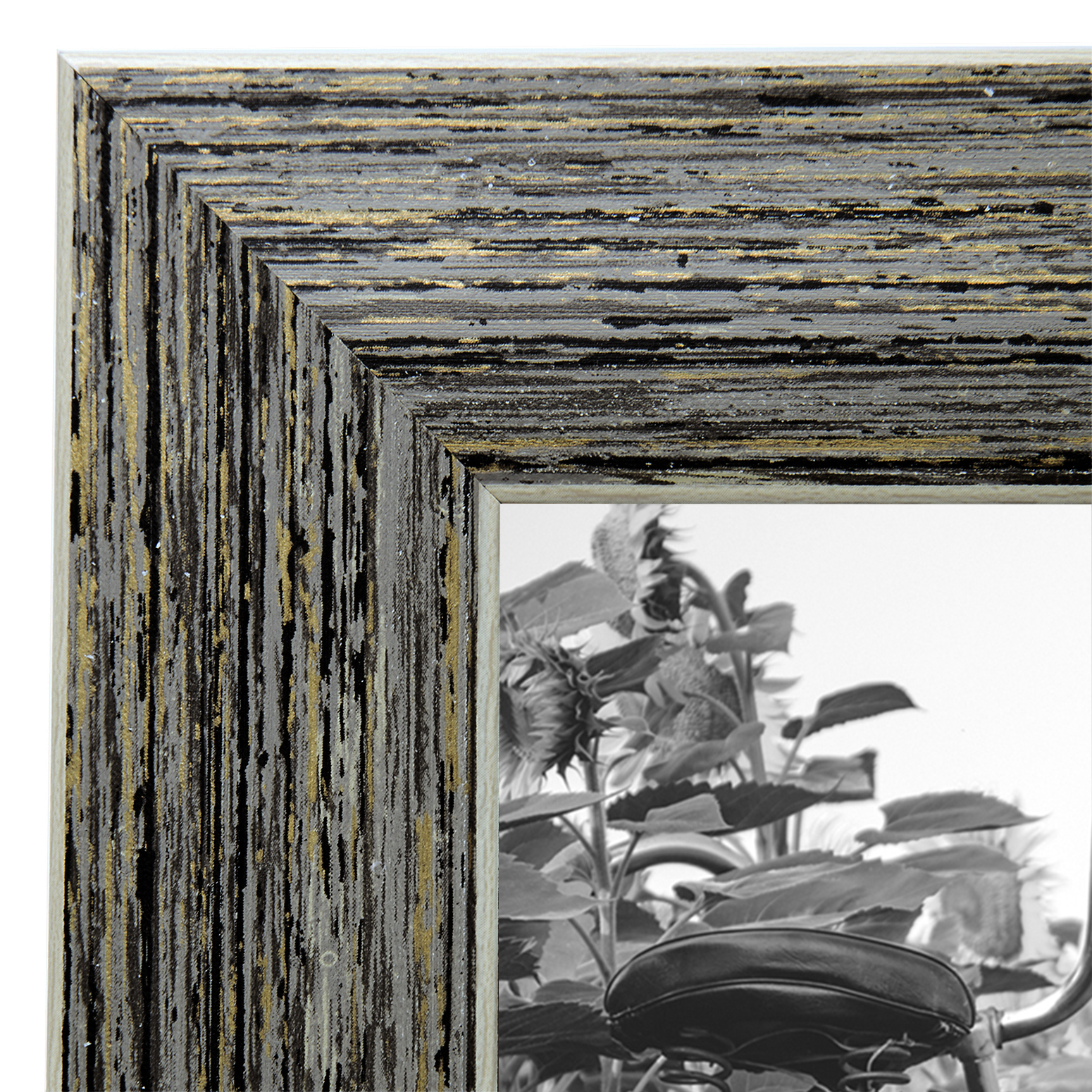 miniature 32 - Americanflat Picture Frame 4x6 5x7 8x10 (2) Pack Rustic Wood Wall or Tabletop