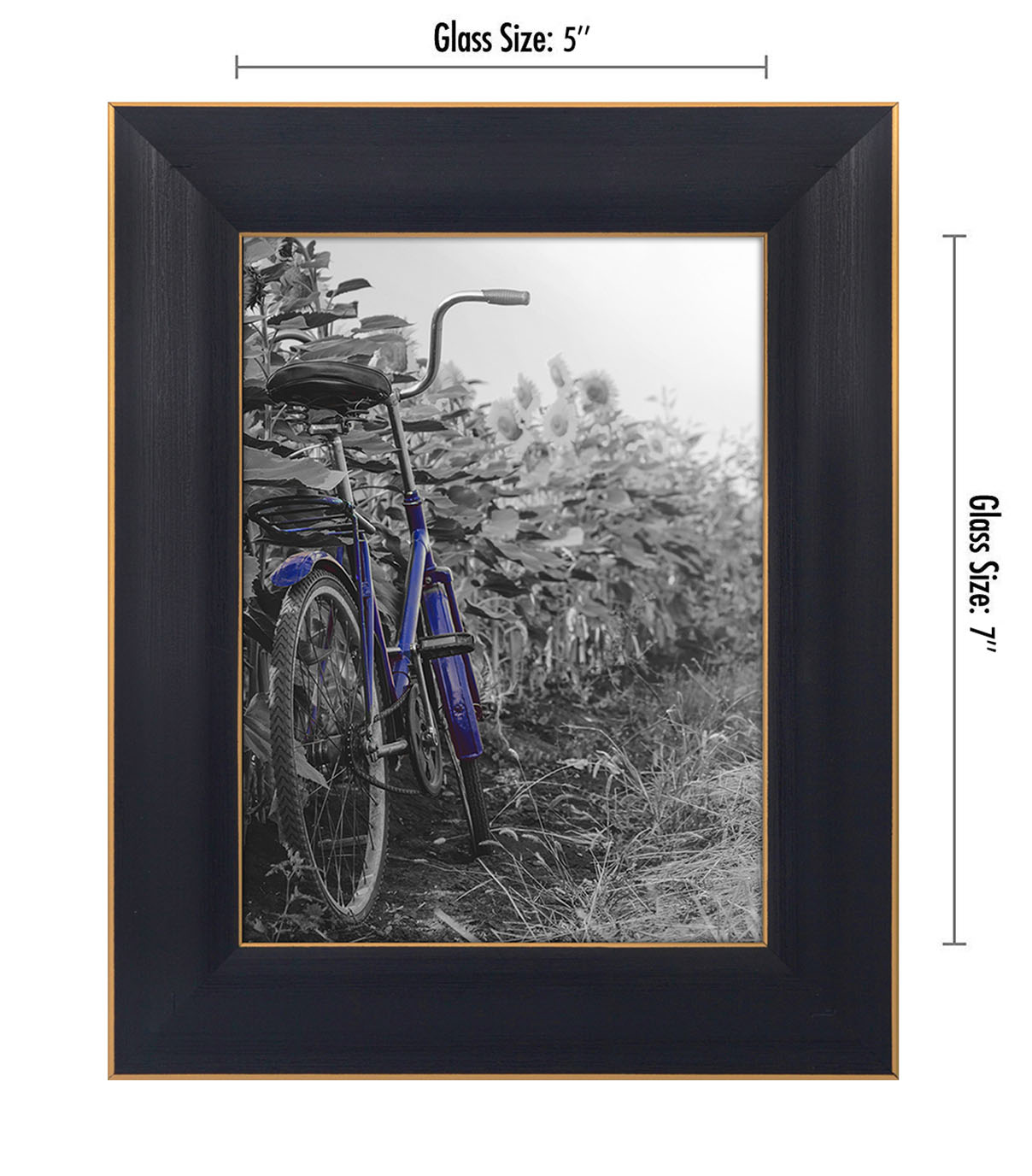 miniature 10 - Americanflat Picture Frame 4x6 5x7 8x10 (2) Pack Rustic Wood Wall or Tabletop