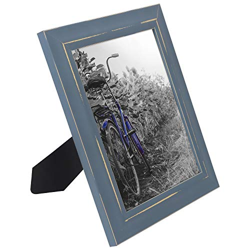 miniature 40 - Americanflat Picture Frame 4x6 5x7 8x10 (2) Pack Rustic Wood Wall or Tabletop