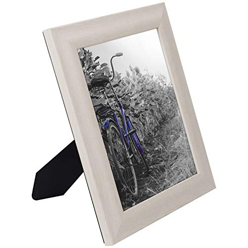miniature 46 - Americanflat Picture Frame 4x6 5x7 8x10 (2) Pack Rustic Wood Wall or Tabletop
