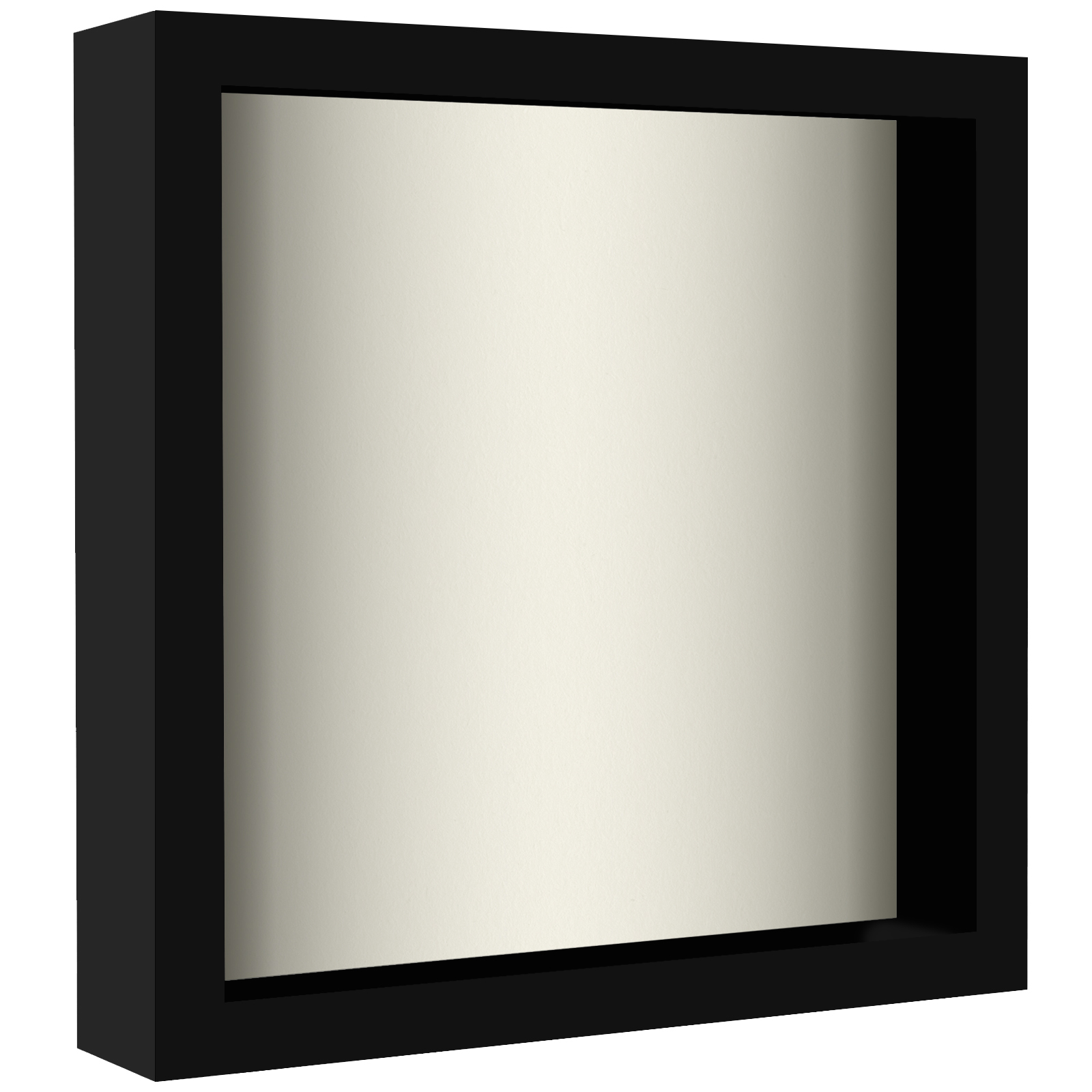miniature 9 - Americanflat Shadow Box Frame with Soft Linen Back - Variety of Sizes