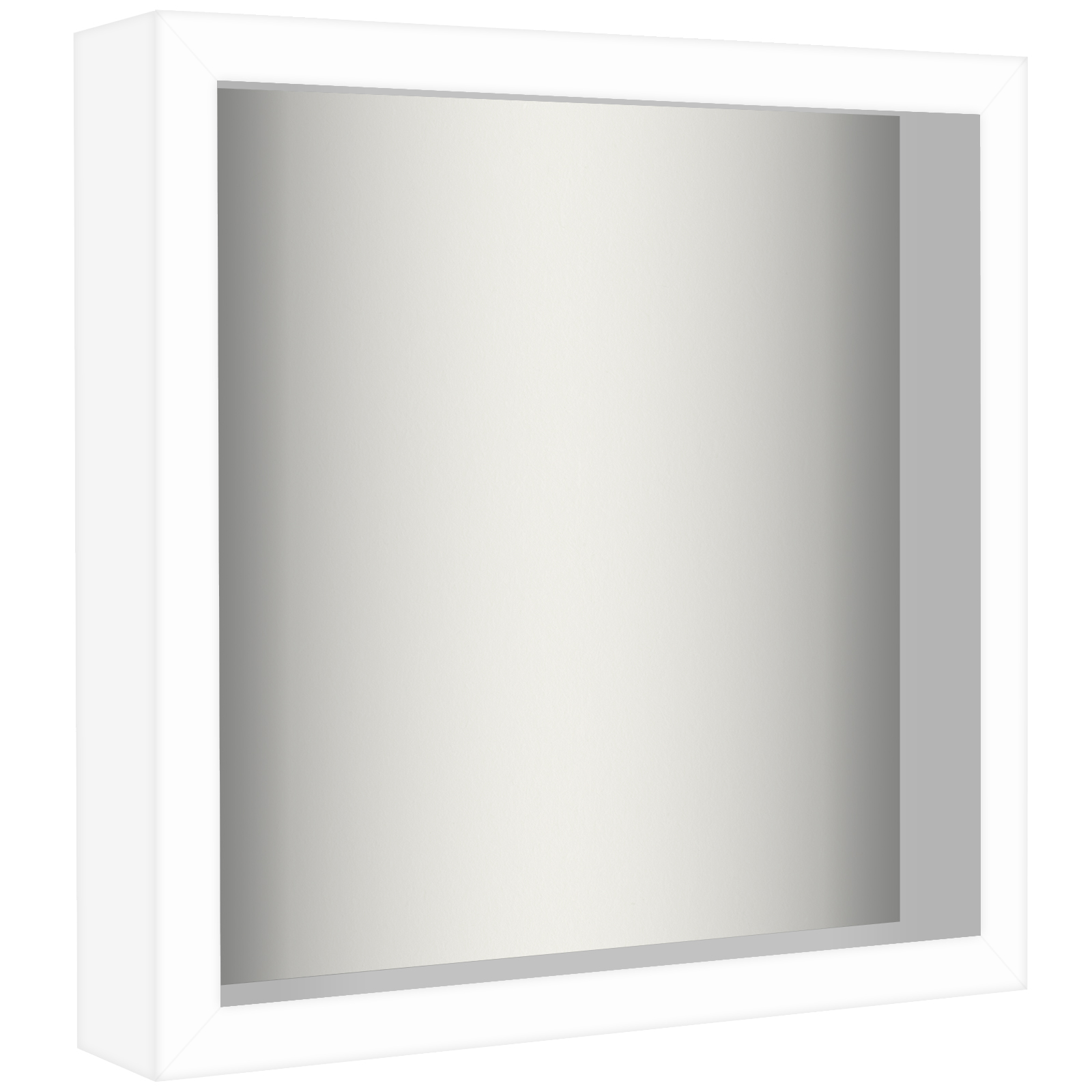 miniature 21 - Americanflat Shadow Box Frame with Soft Linen Back - Variety of Sizes