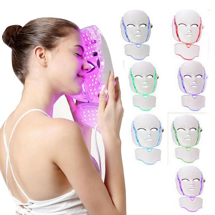 LED Light Mask - Photon Light Therapy Anti aging LED Mask  For Face & Neck Rejuvenation
