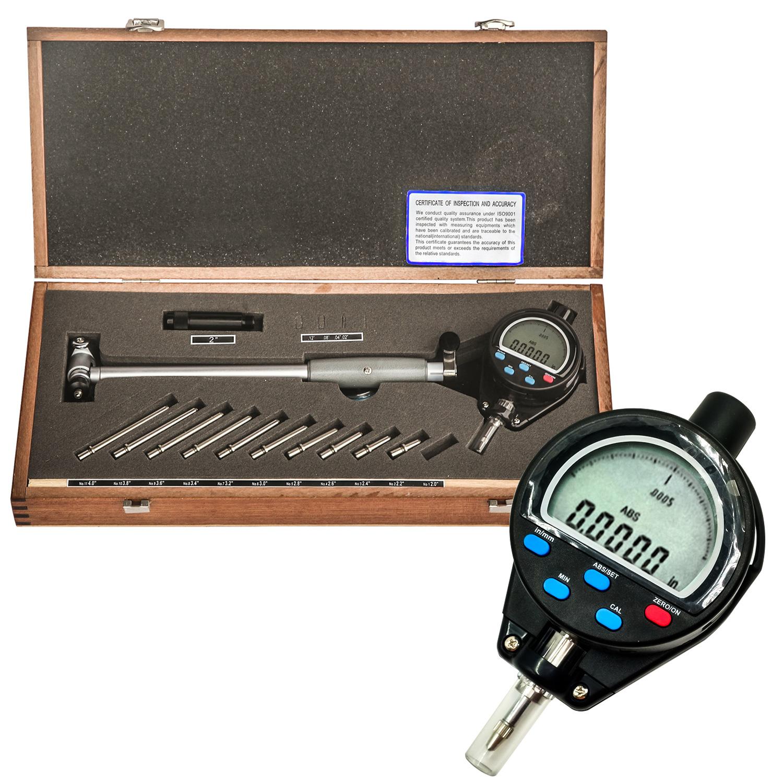 "Dial Bore Gauge 2-6/""//.0005/"" Deep Engine Cylinder Measuring Hole Indicator"