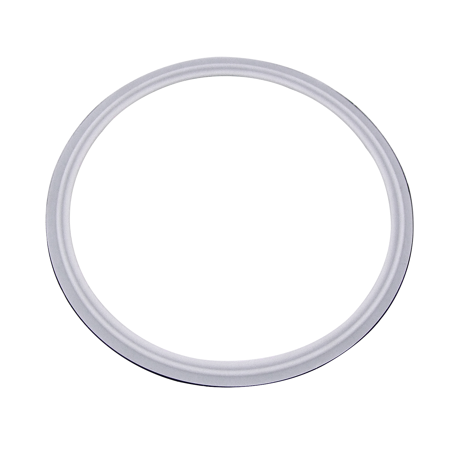 HFS R 1.5 VITON with PTFE Coved Gasket Fits Sanitary Tri Clamp Type Ferrule