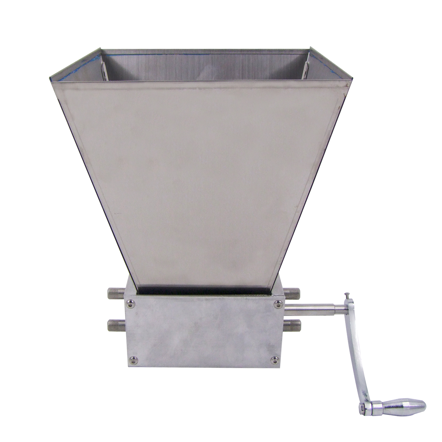 Details about HFS(R) Grain Mill with 11 lb  Hopper and 3 Rollers, Three  Roller Malt Mill