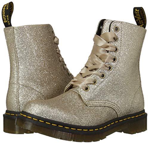 Dr-Martens-Women-039-s-1460-Pascal-Glitter-Fashion-Boot-Pale-Gold-24320714