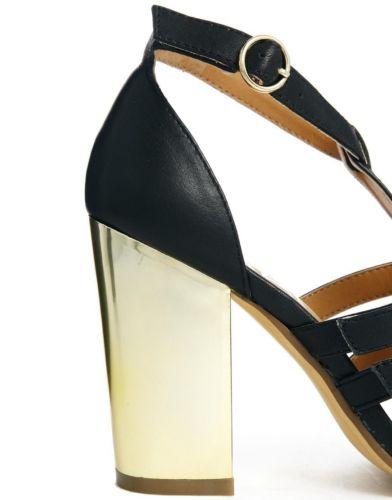 598dcaded12 Breckelles Aloha Gold Metallic Open Toe Ankle Wrap Tasseled ...