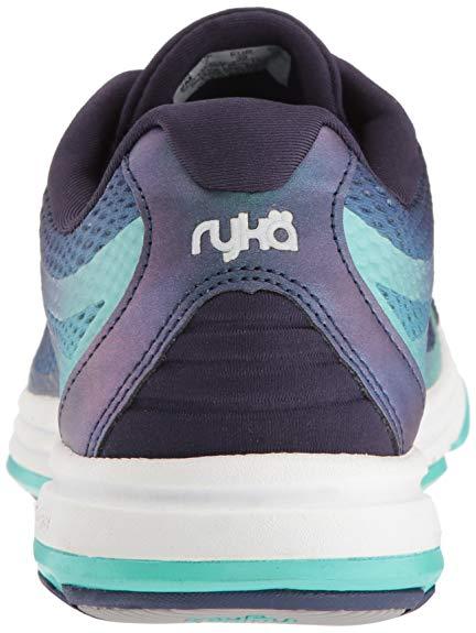 88243a7c1d20 Ryka Women s Devotion Plus 2 Walking Shoe Navy Teal