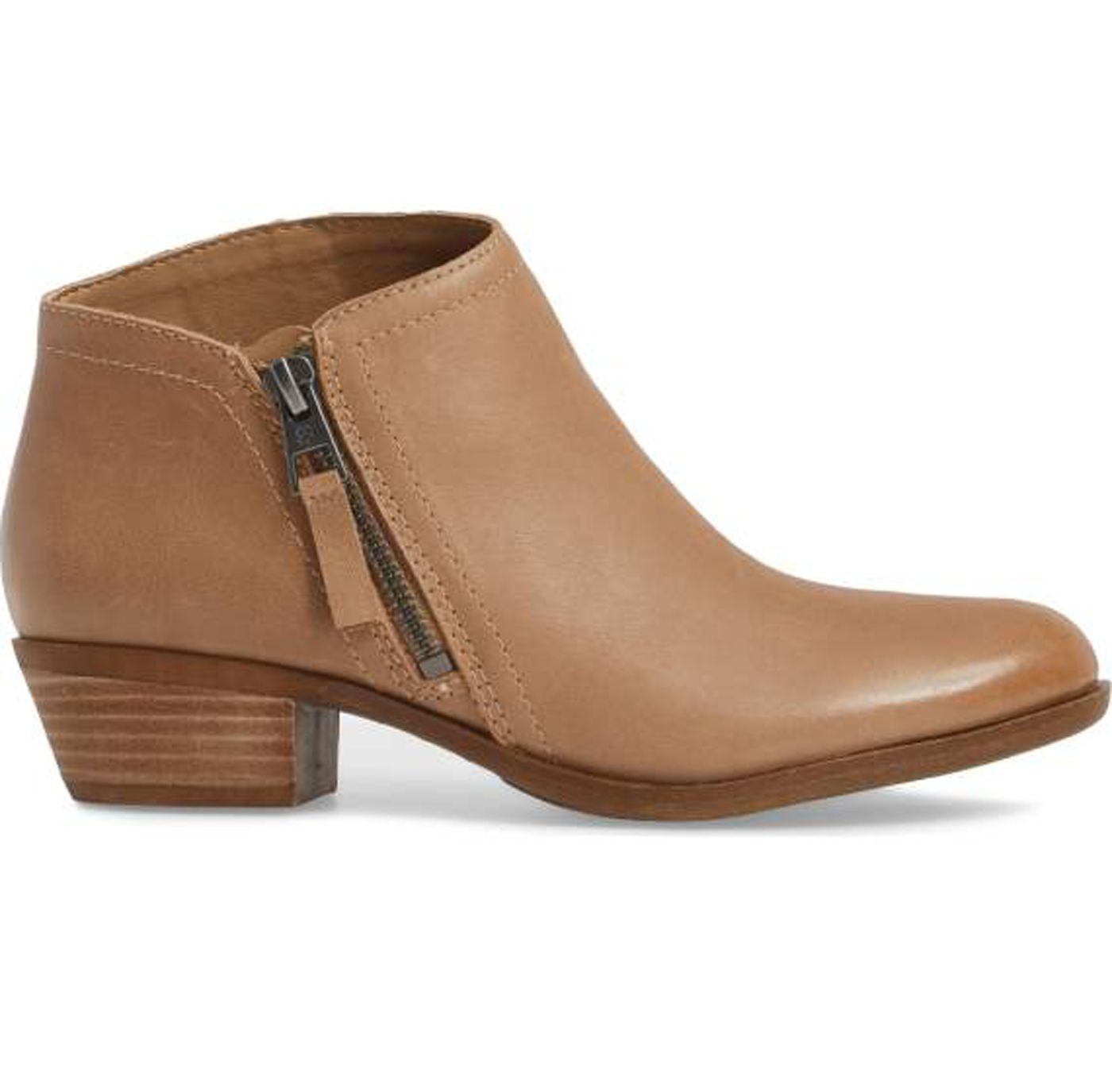 Lucky Brand Brielley 2 Wheat Nappa Leather Asymmetrical Ankle Ankle Ankle Basel Bootie 01a0f7