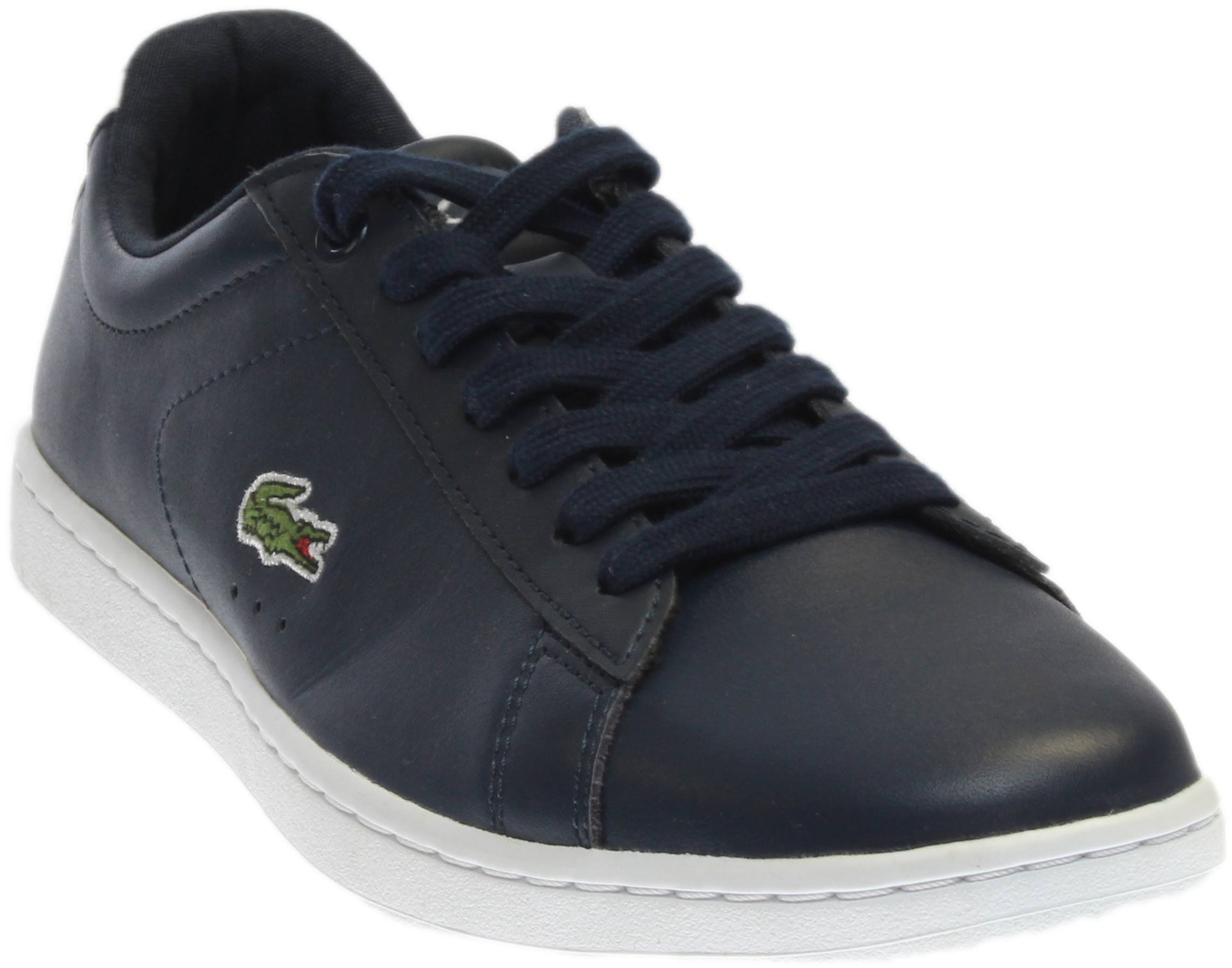 Lacoste Women's Women's Women's Carnaby EVO BL 1 shoes Navy bluee Lace Up Seakers cb4e16