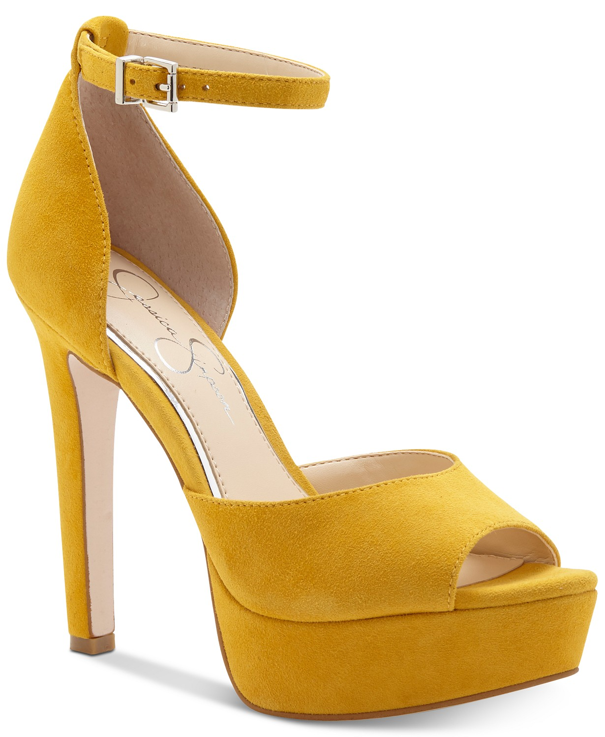 Jessica-Simpson-Womens-Beeya-Peep-Toe-Ankle-Strap-D-orsay-Platform-Pumps thumbnail 2