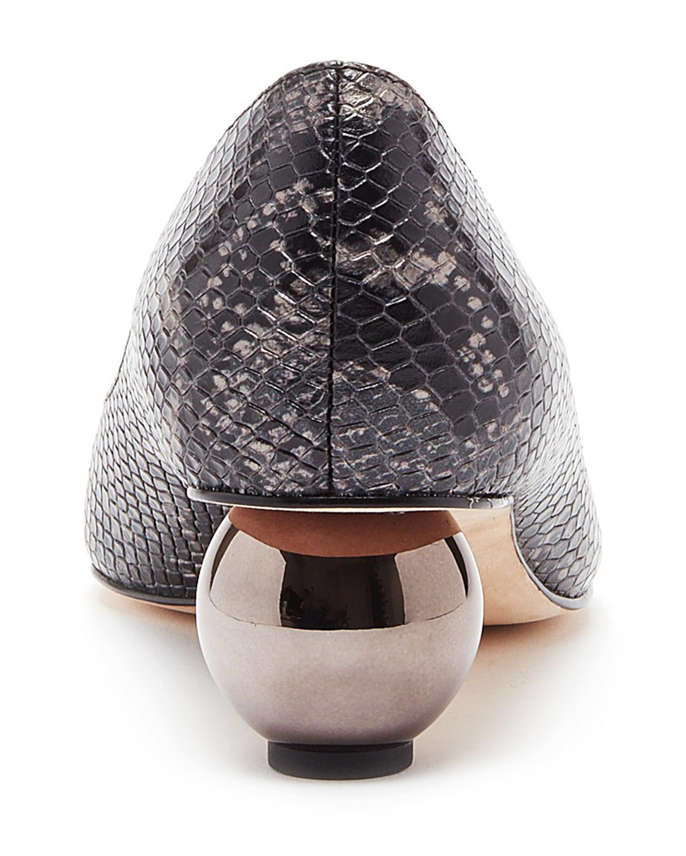 Pour La Victoire Victoire Victoire Kiki Suede Sphere Heel Pump, Nickel Pointed Toe Pump 4164ef