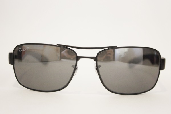 b3a78609b4 Ray-Ban RB 3522 POLARIZED Sunglasses 006 82 Matte Black Gray Silver Mirror  64mm 3 3 of 3 See More