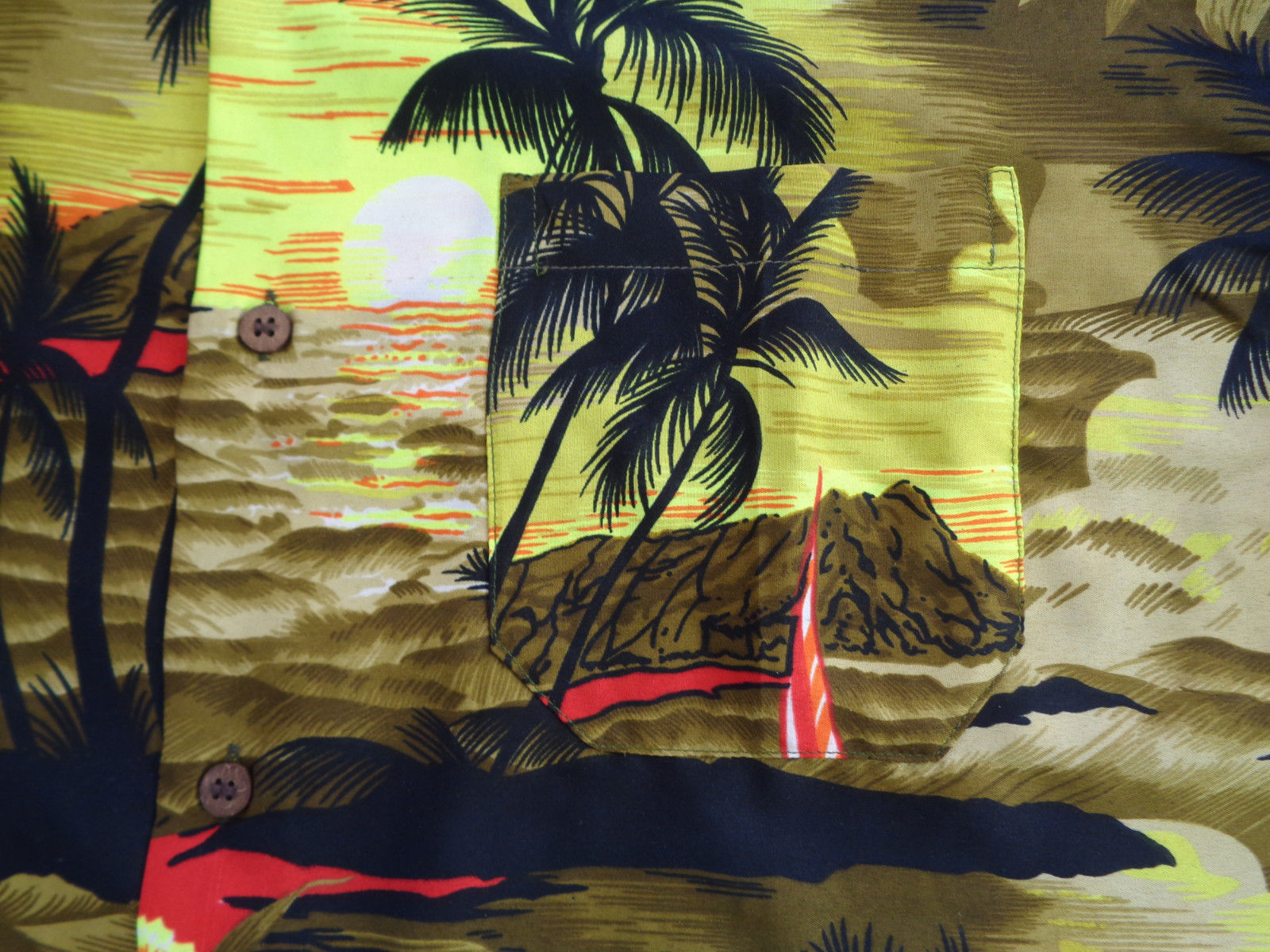 Hawaiian-Shirt-Mens-Allover-Print-Beach-Camp-Party-Aloha-Beach-Holiday-Camp thumbnail 6