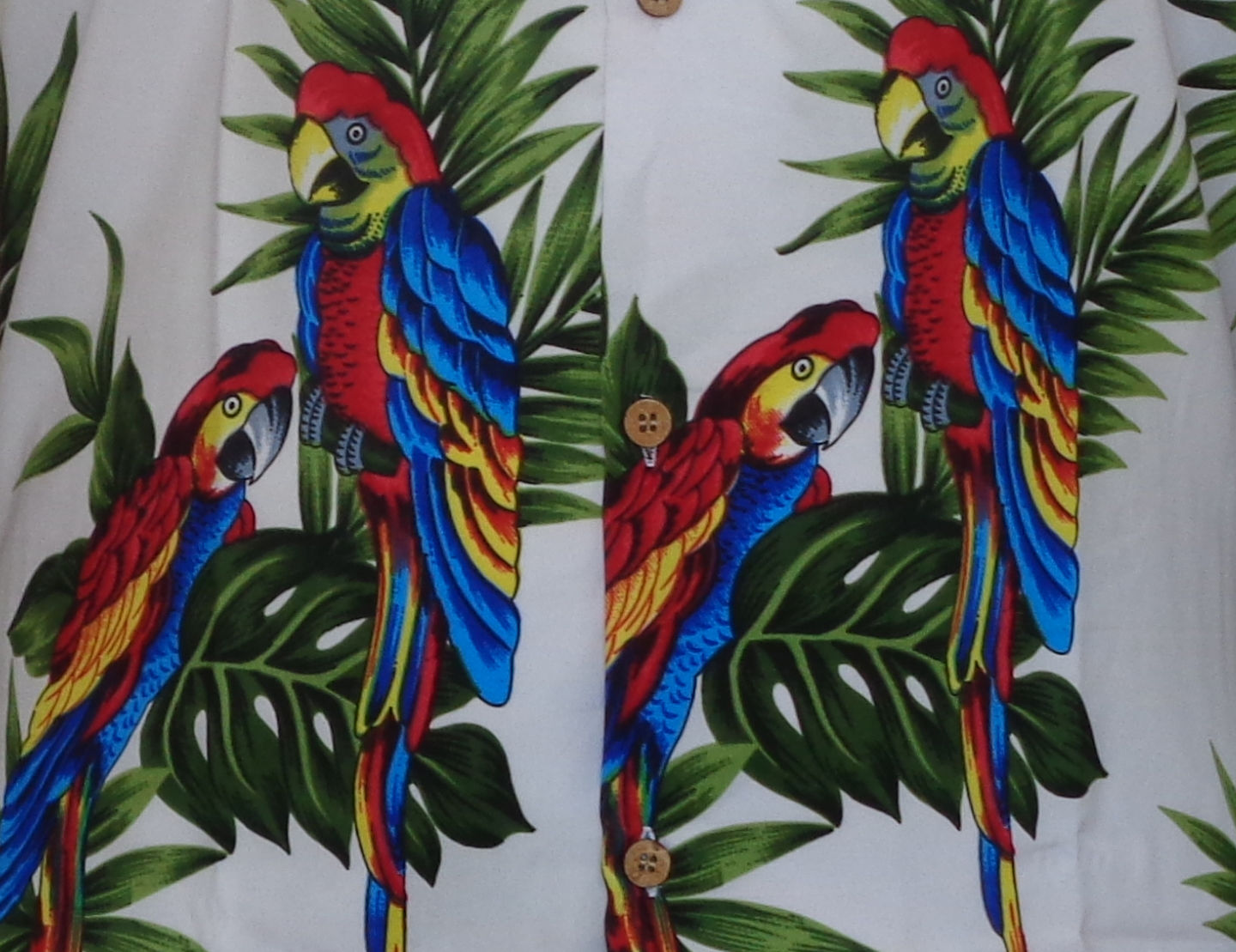 Hawaiian-Shirt-Mens-Parrot-Toucan-Print-Beach-Aloha-Party-Holiday-Camp thumbnail 13