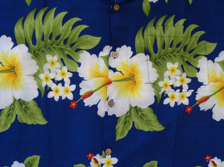 Hawaiian-Shirt-Mens-Hibiscus-Floral-Print-Aloha-Party-Beach-Camp-Holiday thumbnail 10