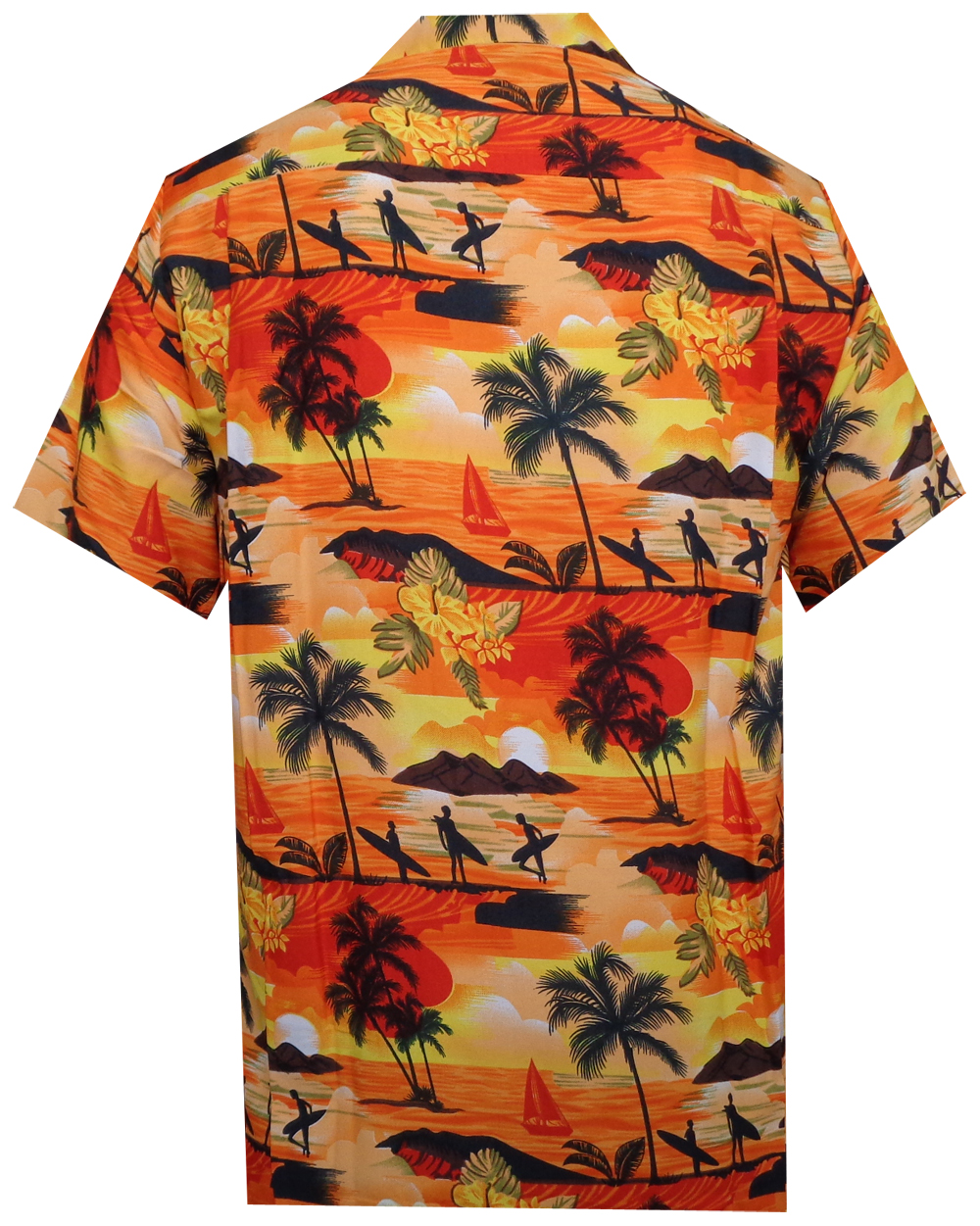 Hawaiian-Shirt-Mens-Allover-Ocean-Scenic-Camp-Party-Aloha-Holiday-Beach thumbnail 5