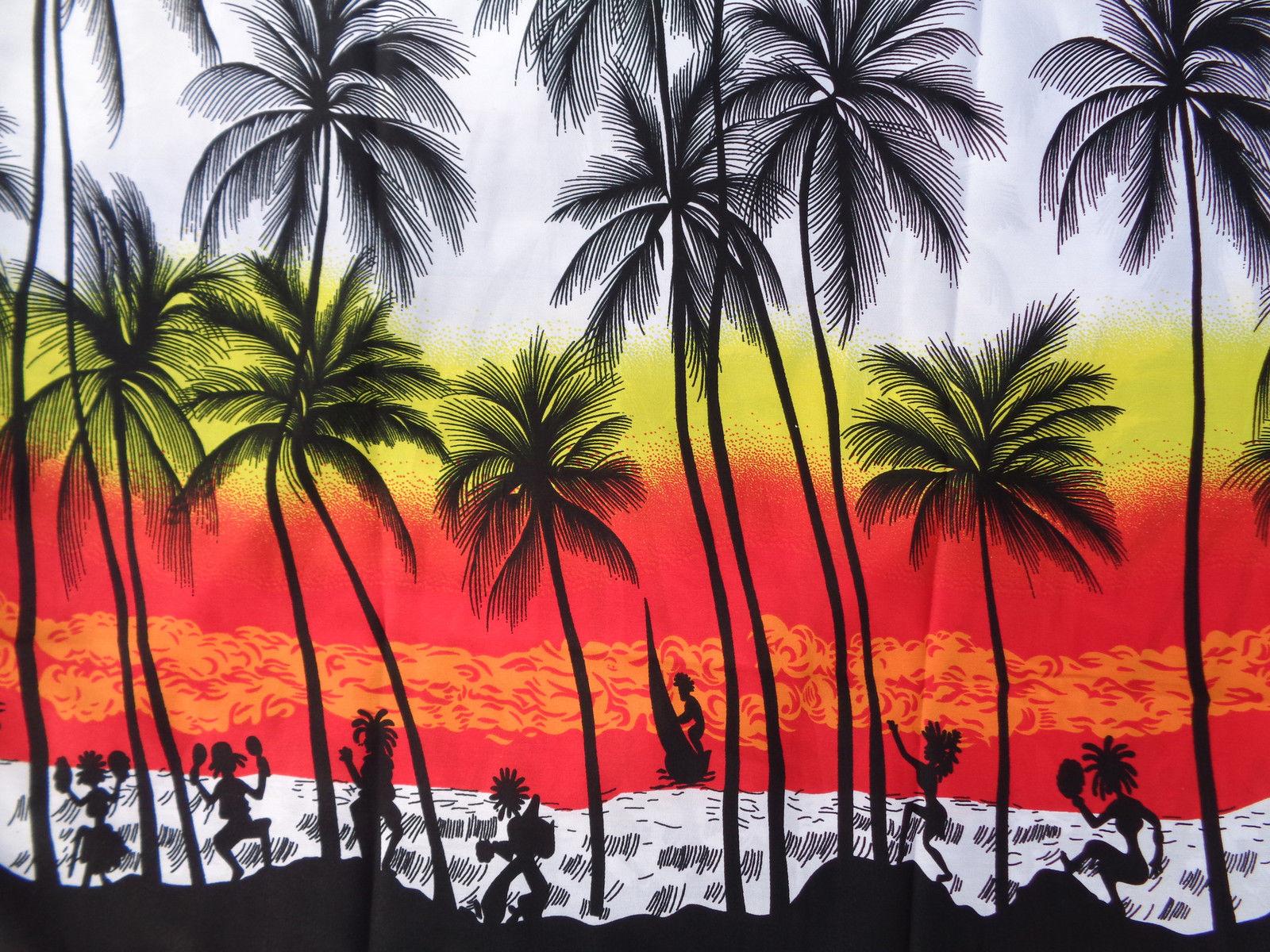 Hawaiian-Shirt-Mens-Coconut-Tree-Print-Beach-Camp-Party-Aloha-Beach-Holiday-Camp thumbnail 8