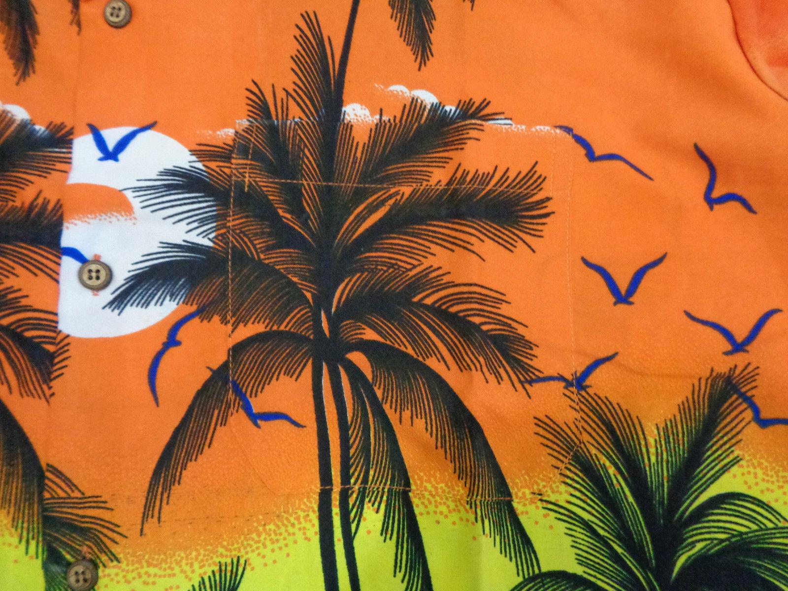 Hawaiian-Shirt-Mens-Coconut-Tree-Print-Beach-Camp-Party-Aloha-Beach-Holiday-Camp thumbnail 14