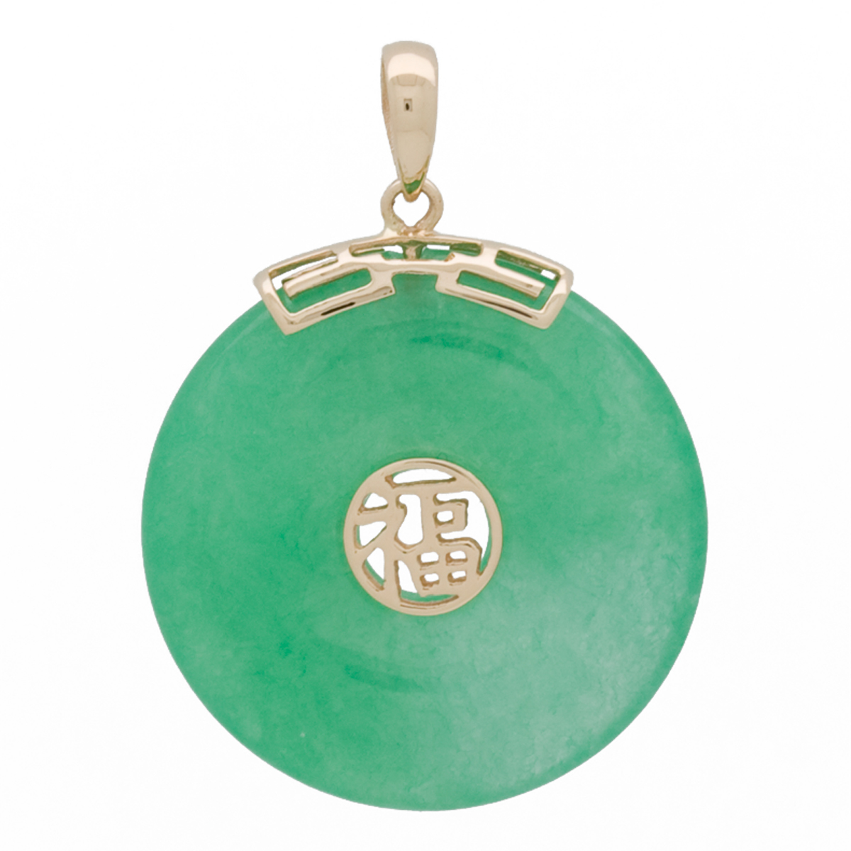 necklace jade green