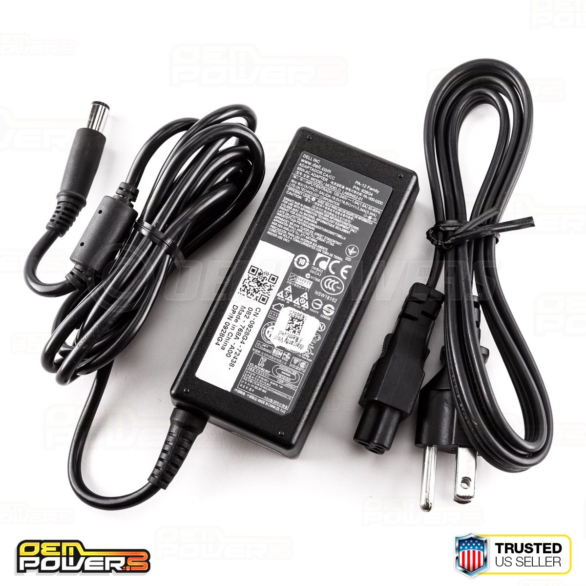 Details about GENUINE DELL LAPTOP PA-12 Family 65W AC Power Adapter DP/N  0928G4/06TM1C/09RN2C