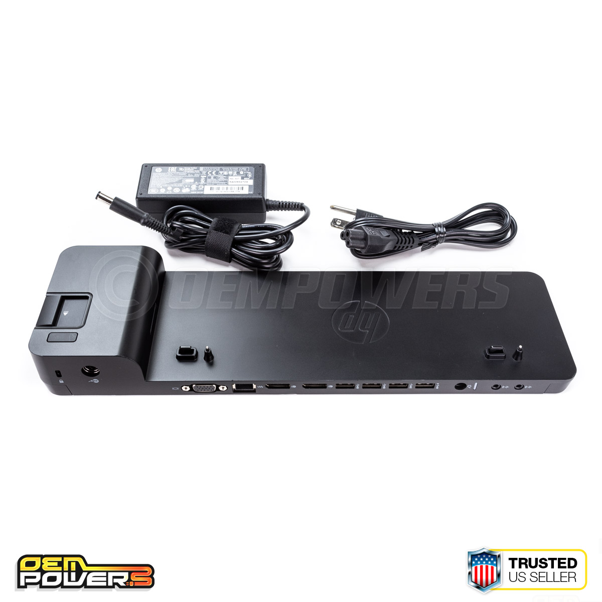 HP UltraSlim 2013 D9Y32UT#ABA Docking Station SEE NOTES